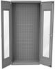 Cabinet, Quick View Bin Cabinet, 36x18x78 No Bins -- AC3618QVGRY -Image