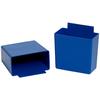 """5 1/8"""" x 2 3/4"""" x 3"""" Blue - Shelf Bin Cups -- BINC523B"""