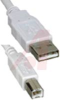 Cable Assembly; USB-A; USB-B; 3.3 Ft; Gray; 28 AWG -- 70159861 -- View Larger Image
