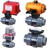 Actuated Ball Valves -- P2 PVC/CPVC - Image