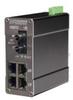 105FX MDR Unmanaged Industrial Ethernet Switch, ST 15km -- 105FXE-ST-15-MDR - Image