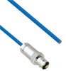 """Plenum Cable Assembly TRB 3-Lug Cable Jack to Blunt MIL-STD-1553 .150"""" O.D. +125C 78 Ohm Twinaxial Shielded twisted pair 6' -- MSA00418-72 -- View Larger Image"""