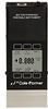 Cole-Parmer Low Pressure Drop Gas Flowmeter, 0-1 sccm, Battery, Mono -- GO-32935-01