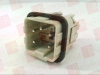 (PRICE/EA) RECTANGULAR HAN INSERT, PLUG, 4WAY SCREW PRODUCT RANGE:HAN A SERIES NO. OF CONTACTS:4 NO. OF ROWS:2 GENDER:PLUG RECTANGULAR SHELL SIZE -- 09200042611