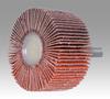 3M Cubitron 747D Coated Ceramic Flap Wheel - 60 Grit - 1 in Face Width - 2 in Diameter - 83271 -- 051144-83271 - Image