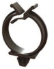 Cable Clamps - Plug In, Round Wire Saddle -- RWS-16-01BK -- View Larger Image