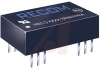 DC/DC-CONVERTER, 2:1, 12V DUAL OUTPUT, 3 W, DIP 24 REGULATED, 4 KVDC ISOLATION, -- 70052054 - Image