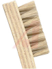 Brush; horse hair bristle 1-3/8x7/16x5/16; 5-1/4 in wood handle -- 70125522