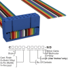Rectangular Cable Assemblies -- C1BXS-1636M-ND -Image