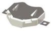 SMT Insulated Retainer Components for 20mm Cell-Matte Tin Plate -- 3074-2