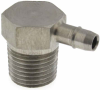 "1/8"" NPT External Pipe Barb Fitting -- MPAL-8 Series -- View Larger Image"