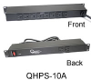 Quest Rack Mount Power Strips -- QHPS-10A