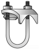 Conduit To Rod Clamp -- UBC-150G