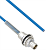 Plenum Cable Assembly TRB Insulated Bulk Head 3-Lug Cable Jack with Bend Relief to Blunt MIL-STD-1553 .150