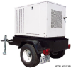 Mobile Isuzu 21 kW Diesel Enclosed Generator