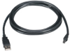 Universal Serial Bus (USB) Cable - Version 2.0, Type A–Type Mini B, 6-ft. (1.8-m) -- USB06-0006