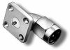 RF Coaxial Panel Mount Connector -- 5595-2CCSF -Image