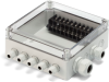 IP67 Polycarbonate Enclosure With Metric Knockouts -- SPCM Series -Image