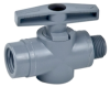 SMC PVC 2-Way Tru-union Ball Valves - 628 Series -- 22132