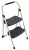 WERNER 2-Step Step Stool Type II 225lbs Black/Grey -- Model# 222-6