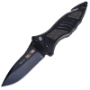 CQD Mark I Type E, Black Nylon Handle, Black Blade, Plain