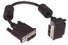 DVI-D Single Link DVI Cable Male / Male Right Angle, Bottom 0.5m -- MDA00023-05M -Image