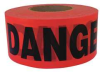 Red,Danger Asbestos Hazard Tape,1000ft -- 35R881