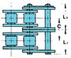 Double Strand Drive Lambda® Chains -- RSD40(H)-2LAMBDA
