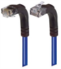 Category 6 Right Angle Patch Cable, Right Angle Up/Right Angle Down - Blue 3.0 ft -- TRD695RA4BL-3 -Image