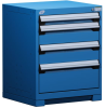Heavy-Duty Stationary Cabinet , 4 Drawers (24