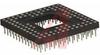 Socket; Pin Grid Array; 68; 0.02 in.; 0.125 in.; 200 muin. Sn/Pb; Clip; Gold -- 70206216