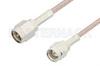SMA Male to Reverse Thread SMA Male Cable 48 Inch Length Using RG316 Coax -- PE35375-48 -Image