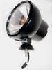 ACRO LIGHTS - 1830-S Off Road light - Black - 6 inch round - Internal Ballast - Spot Pattern -- HID-A1830-SA