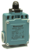 Global Limit Switches Series GLS: Top Roller Plunger, 1NC 1NO Slow Action Make-Before-Break (MBB), 20 mm -- GLEC04C -Image