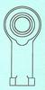 Steel Pro-Line Rod Ends -- PRO-5F-G