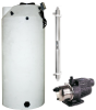 1500 Gallon Atmospheric Deluxe Tank Package with Pump & UV -- 220-ATP-1500-12