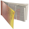 Book, Wire Marker; Vinyl Impregnated Cloth Film with Natural Rubber Adhesive -- 70113845