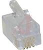 CAT5E, RJ11 Modular Plug, Handset, (4p4c), Unshielded, Solidö -- 70081231 - Image