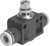 One-way flow control valve -- GR-QB-5/32-U -- View Larger Image