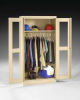 Cabinet,Office,Wardrobe,24 x 36 x78,Gray -- 8TV06