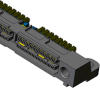 Q Strip® High Speed Interconnects -- QSS-RA Series - Image