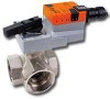 Three Way Characterized Control Valve -- B3 Series