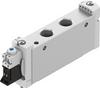 Air solenoid valve -- VUVG-L18-M52-RZT-G14-1P3 -Image