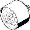 Pressure gauge -- PAGN-40-16-P10 -- View Larger Image