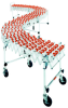 MEDIUM DUTY ACCORDIAN EXPANDABLE CONVEYOR WITH PLASTIC WHEELS -- H214-24P