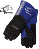 365 High Quality Cowhide Stick Welding Gloves w/ BackPatch -- REV-365-MASTER