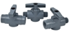 SMC PVC 2-Way Tru-union Ball Valves - 628 Series -- 22133