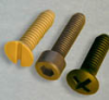 Machine Screws -- Cheese Head Slotted -- View Larger Image