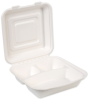 EcoSmart? 9 Inch 3 Compartment Container