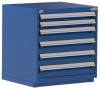 Heavy-Duty Stationary Cabinet , 6 Drawers (30